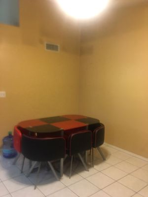 Dining table with 6 chairs for Sale in Glendale, AZ
