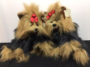 "Pair of Ty Beanie Buddy ""Yappy"" The Yorkshire Terrier/Vintage 1997 /12"" Beanie Buddy Plush Yorkie for Sale in Wilton Manors, FL"