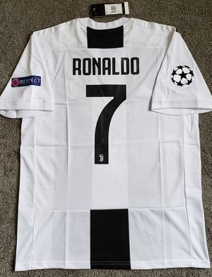 JUVENTUS jersey camiseta UCL Cristiano Ronaldo CR7 for Sale in La Habra Heights, CA