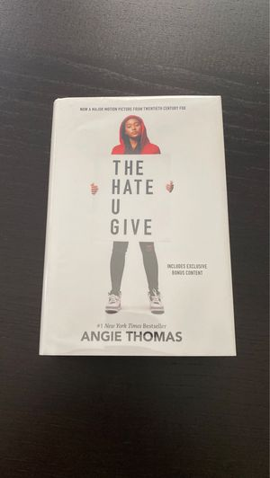 The Hate U Give Signed Copy for Sale in Grand Rapids, MI