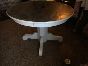 Farm style dining table. No chairs. for Sale in Tempe, AZ