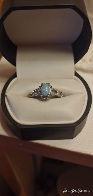 .925 Fire Blue Opal Ring for Sale in Amarillo, TX