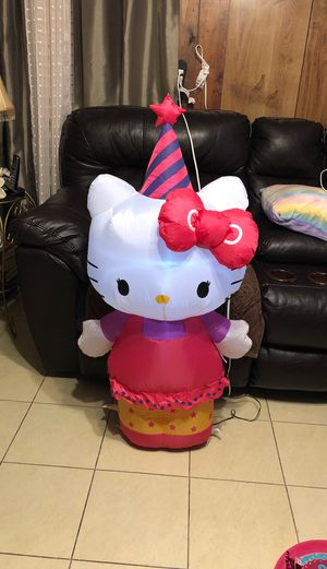 Hello kitty inflatable for Sale in Dallas, TX