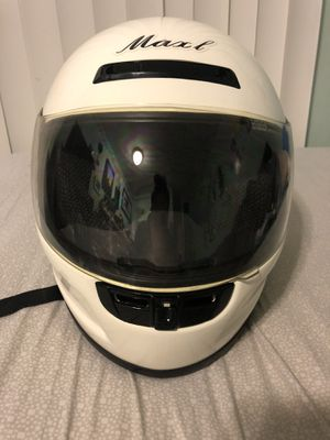 Maxl Motorcycle Helmet for Sale in Seattle, WA