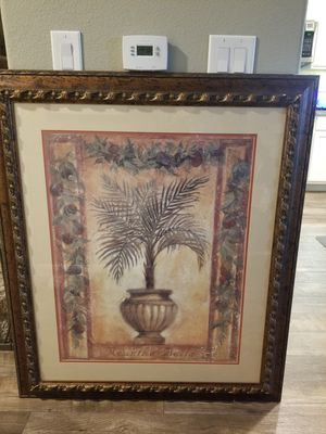 Neanthe bella palm tree painting for Sale in Frisco, TX