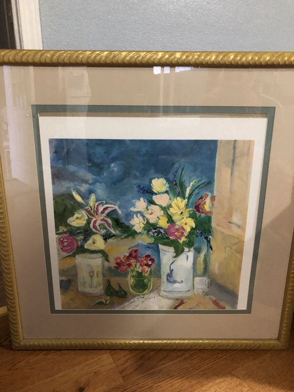 Art work with frame