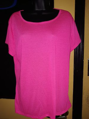 Size 2x super sexy mesh see through hot pink blouse for Sale in San Antonio, TX