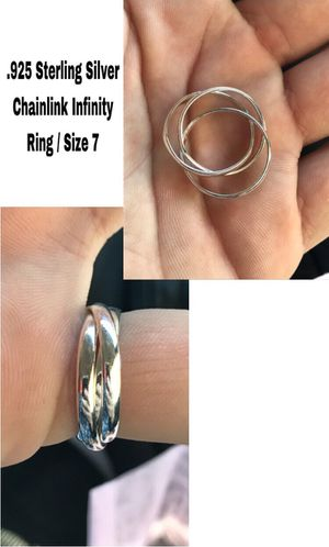 Sterling Silver Infinity Ring / Size 7 for Sale in Woodhull, IL
