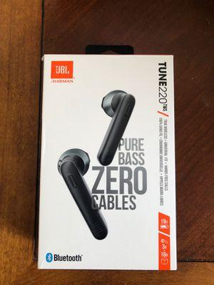 JBL TUNE220TWS True Wireless Earbuds for Sale in Denver, CO