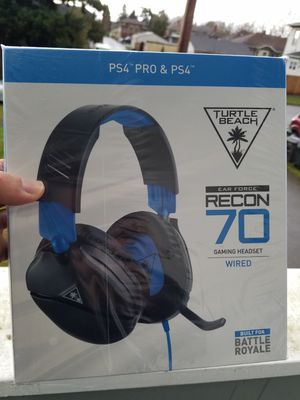 """turtle beach recon 70 gaming headset """"Brand New"""" for Sale in Everett, WA"""