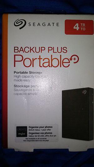 Seagate 4tb backup plus portable storage for Sale in Phoenix, AZ