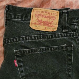 Vintage Levis 517 Boot Cut Black Jeans for Sale in Palmdale, CA