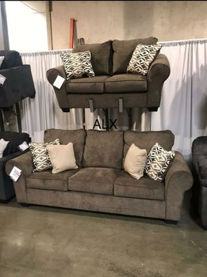 2PC COUCH /SOFA AND LOVESEAT $39 DOWN PAYMENT ONLY for Sale in Houston, TX
