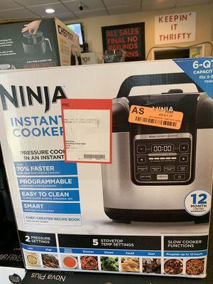 Instant pots ninja for Sale in Modesto, CA