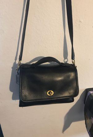 Leather coach crossbody bag for Sale in Santa Ana, CA