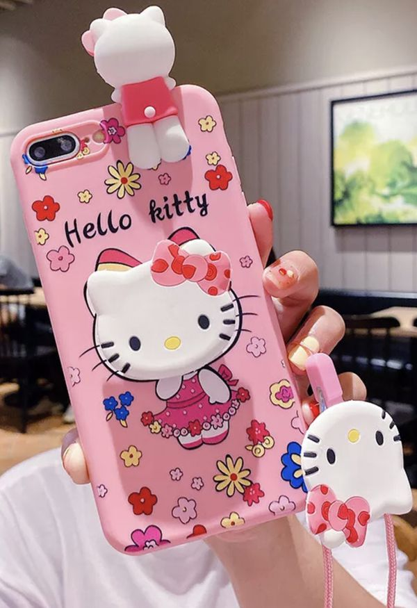 Brand New Samsung Galaxy Note 9 Hello Kitty Case with Necklace Strap