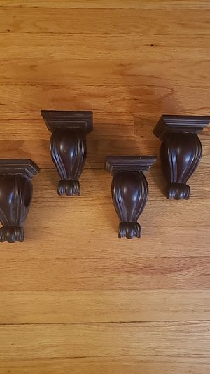 Curtain Sconces / Wall Shelves for Sale in Smithfield, RI