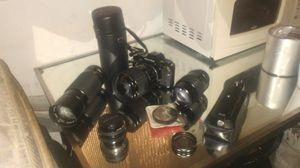 Camera and lenses for Sale in Gibsonton, FL