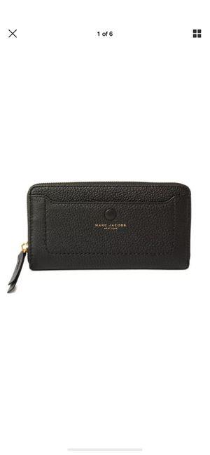 Marc Jacobs Black Zip Around Wallet $200.00 for Sale in Fullerton, CA