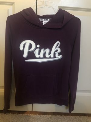 Pink Victoria Secret hoodie size S for Sale in Richardson, TX