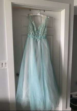 Blue long dress Size 8 for Sale in Hollywood, FL