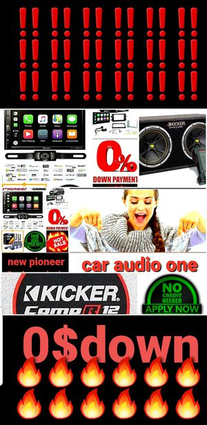 Car audio Package deal with for Sale in San Diego, CA