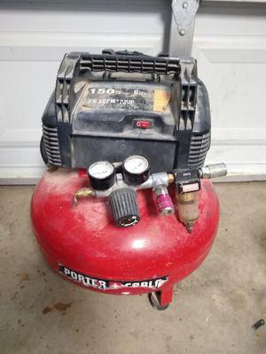 Porter Cable compressor 6 gallon for Sale in Fresno, CA