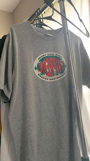 SUPREME New Shit heather gray shirt for Sale in Lebanon, TN