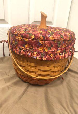 1997 Large longaberger pumpkin basket for Sale in Providence, KY