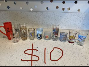 Shot glass collection-around the world for Sale in Los Angeles, CA