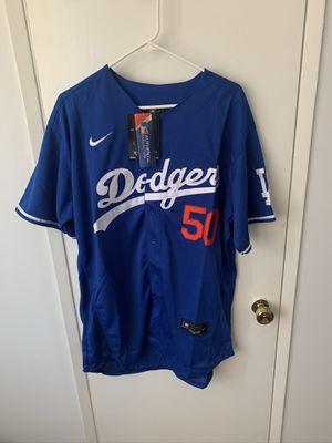Betts #50 blue Los Angeles dodgers jersey for Sale in San Fernando, CA