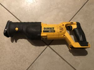 DeWalt Reciprocating Saw for Sale in Oceanside, CA
