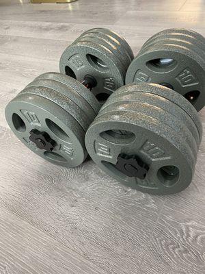 80LB Adjustable Dumbbell- New for Sale in Irvine, CA