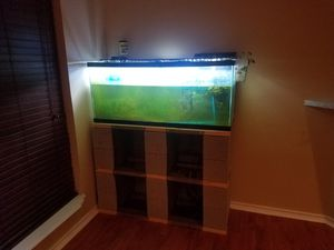 55 gallon tank set up for Sale in Duncanville, TX