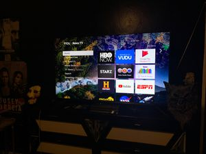 """""""55"""" inch tlc 4k ultra HDR Dolby Vision tv for Sale in North Las Vegas, NV"""