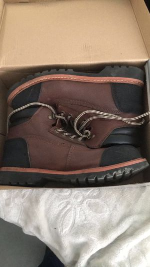 Real leather work boots for Sale in Las Vegas, NV