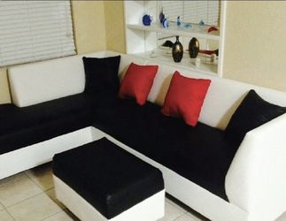 Leather Couch Two Tone for Sale in Miami Springs,  FL