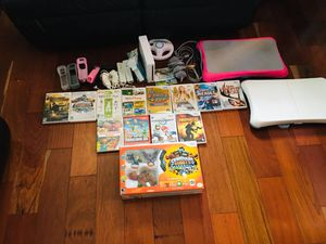 Wii games and more for Sale in Manassas Park, VA