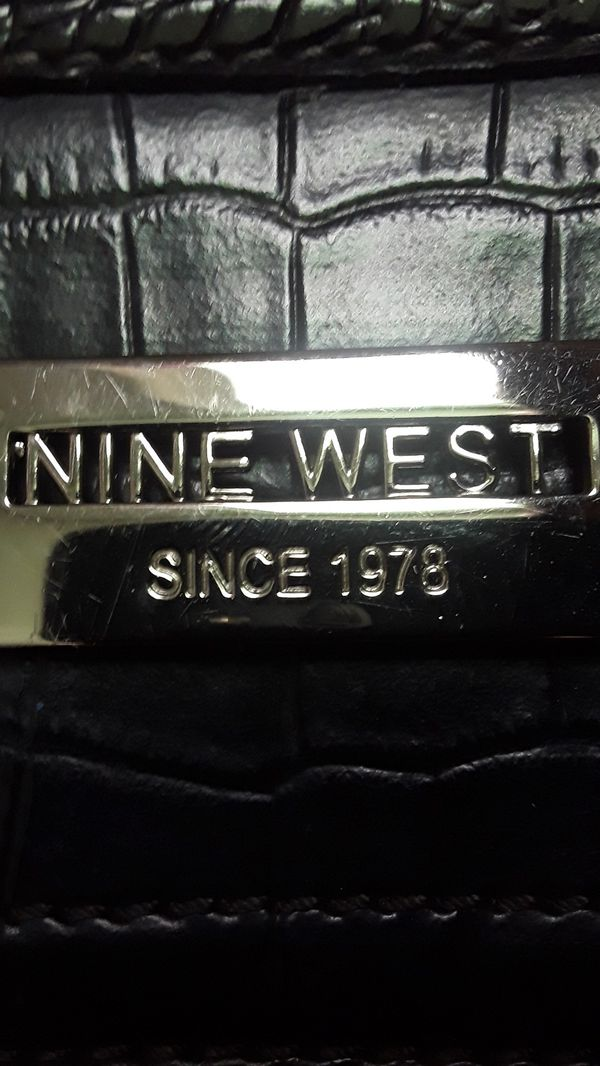 NINE WEST large hobo type bag
