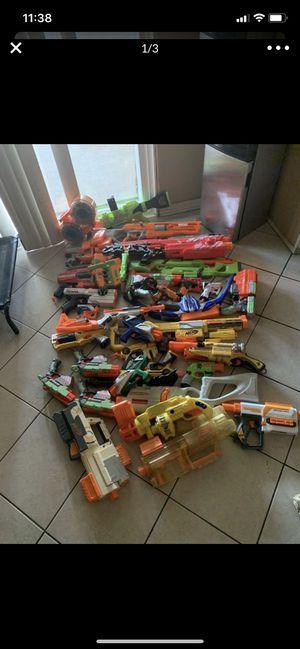 Nerf guns bundle for Sale in Jurupa Valley, CA