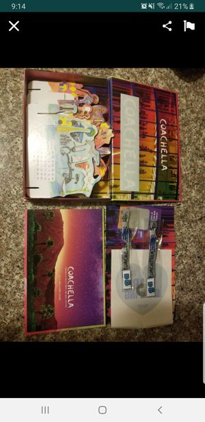 Weekend 1 Coachella 2 tickets plus camping for Sale in Perris, CA