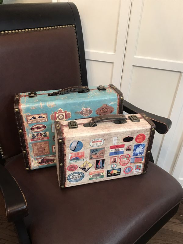 Set Or Separately Never Used Wooden Trunk Decor Org 18