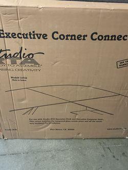 studio rta model 10722 Corner connector For Computer Desk for Sale in Walnut,  CA