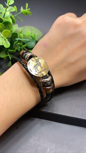 12 Constellations Multilayer Leather Bracelet, Capricorn for Sale in Irvine, CA
