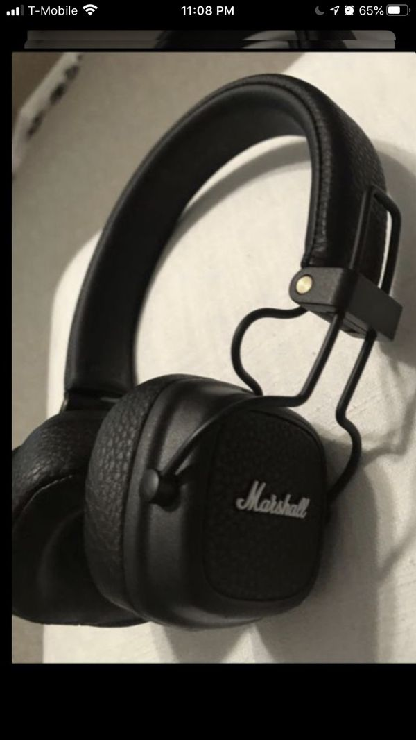 Marshall wireless Bluetooth headphones