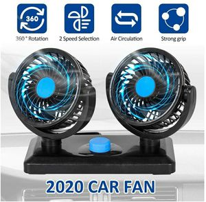 12V Car Cooling Fan, 360 Degrees Car Fan with Weak Wind & Strong Wind for SUV, RV, Cars for Sale in Garden Grove, CA