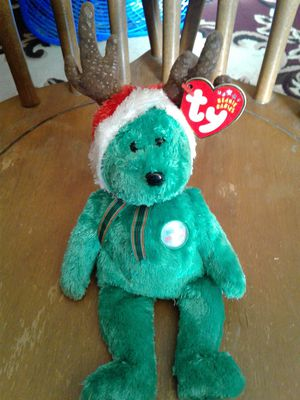 TY Beanie Babies 2002 Holiday Teddy for Sale in Tollhouse, CA