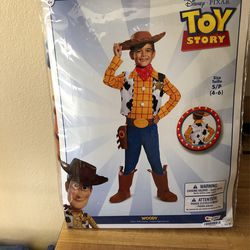 Woody Costume 4-6 for Sale in Salinas,  CA