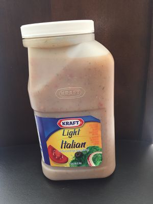 New sealed 1 gallon ITALIAN dressing, one left, $20!!!!!! Plus FREE food food! for Sale in Chula Vista, CA