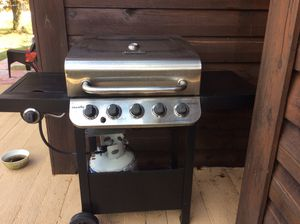 NEW PRICE! Charbroil grill with side burner for Sale in New Columbia, PA